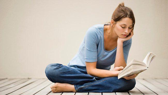 postura leitura