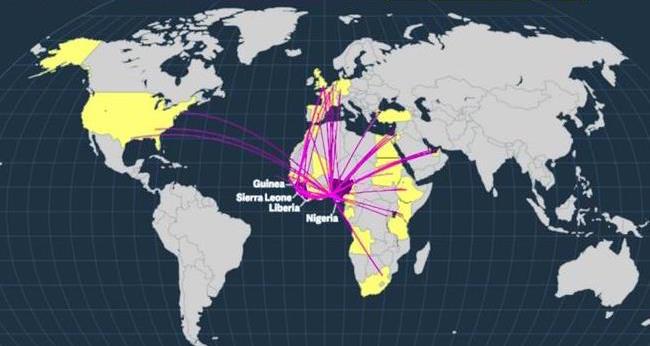 ebola-paises-afetados