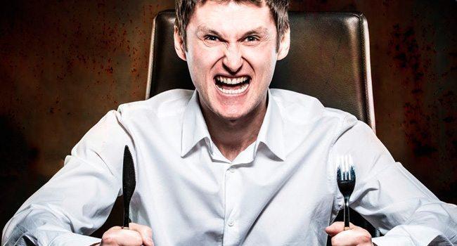 raiva na fome
