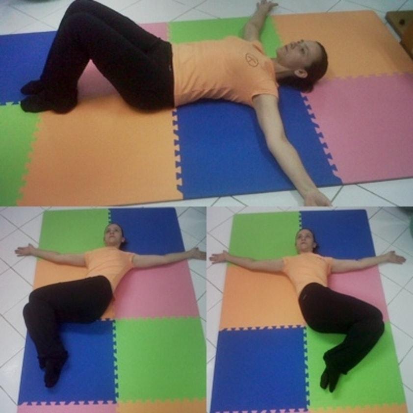 Exercícios para aliviar dor nas costas 4