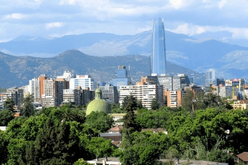 10 Cidades do Mundo mais Visitadas por Brasileiros - Santiago
