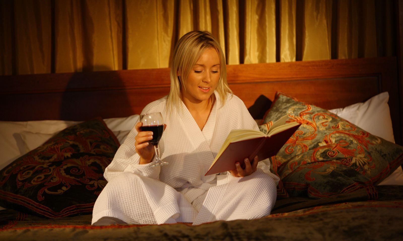 calmante vinho