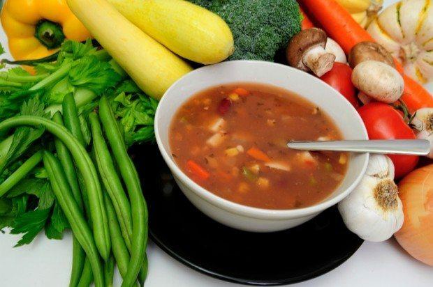 Dieta da Sopa receitas