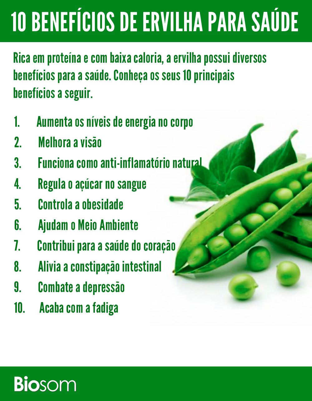 10 beneficios da ervilha para a saude