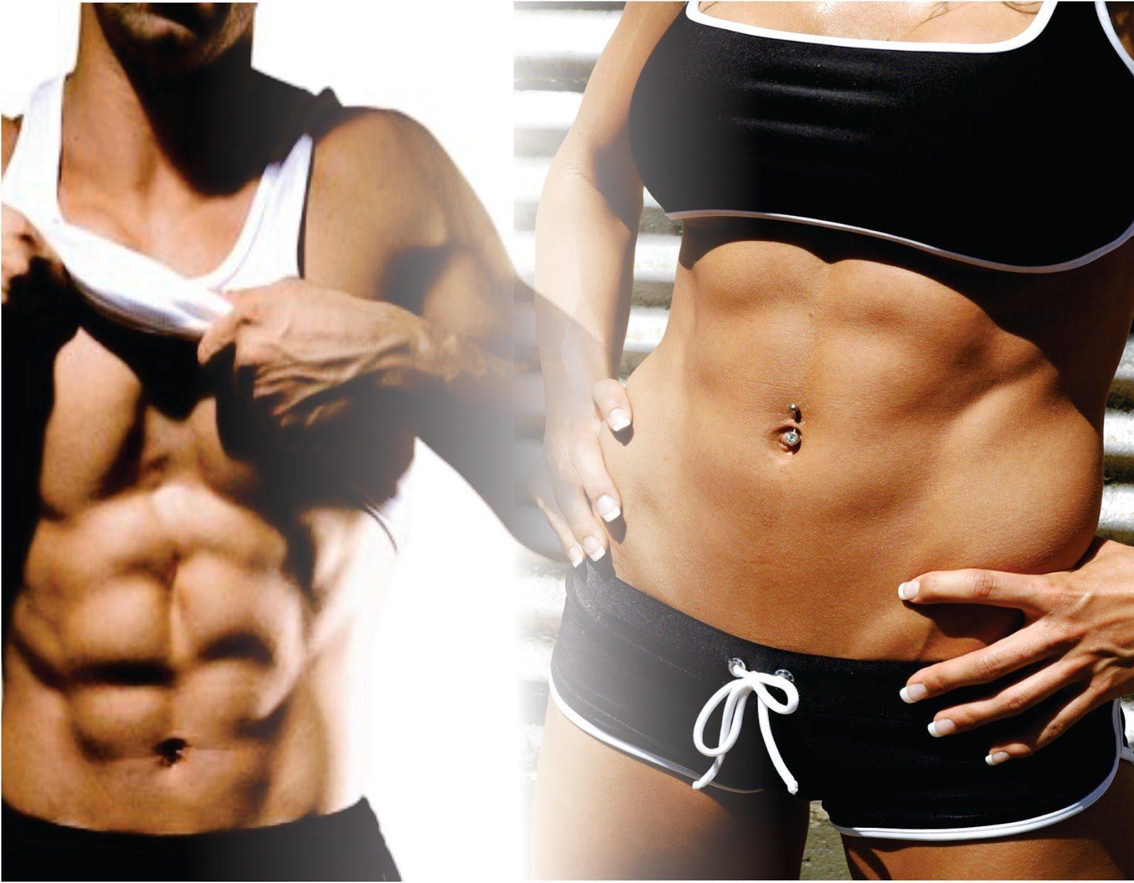 massa muscular homem mulher