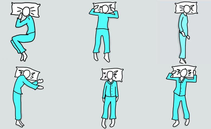 Descubra a Sua Personalidade Com Base em Como Você Dorme