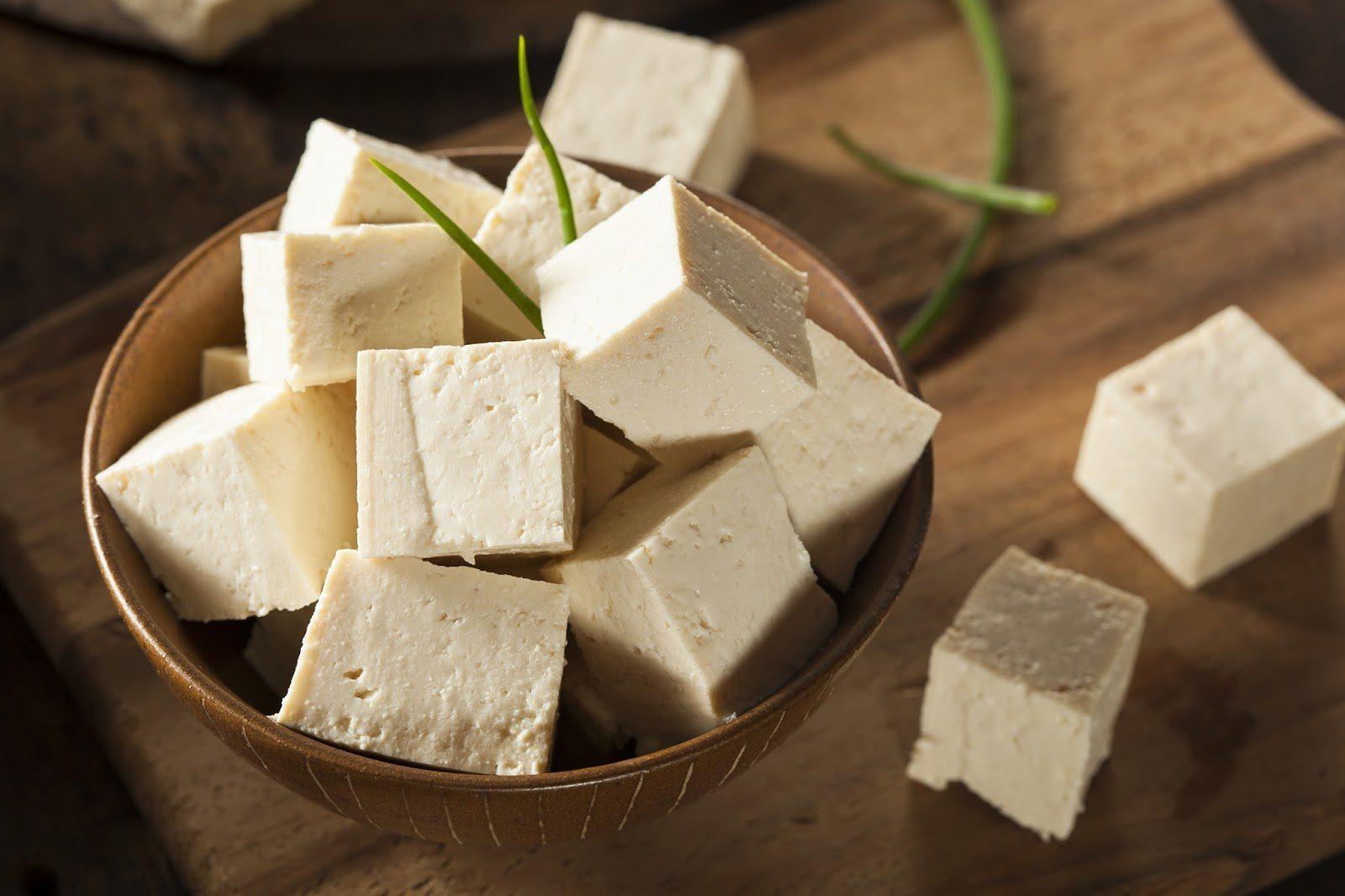 benefíciso de tofu para a saúde