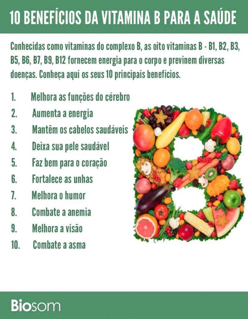 10 Benefícios Incríveis da Vitamina B para a Saúde e seus 8 Complexos