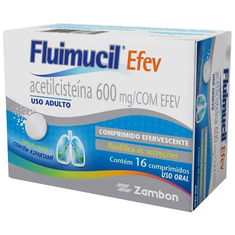 Para que serve Fluimucil (acetilcisteína)?