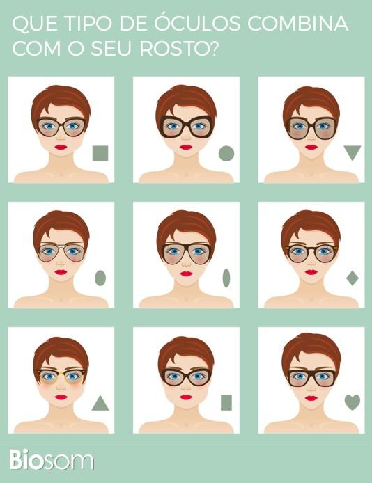 d9b7720d48c00 Que Tipo de Óculos Combina com o Seu Rosto  (Imagens)   Biosom