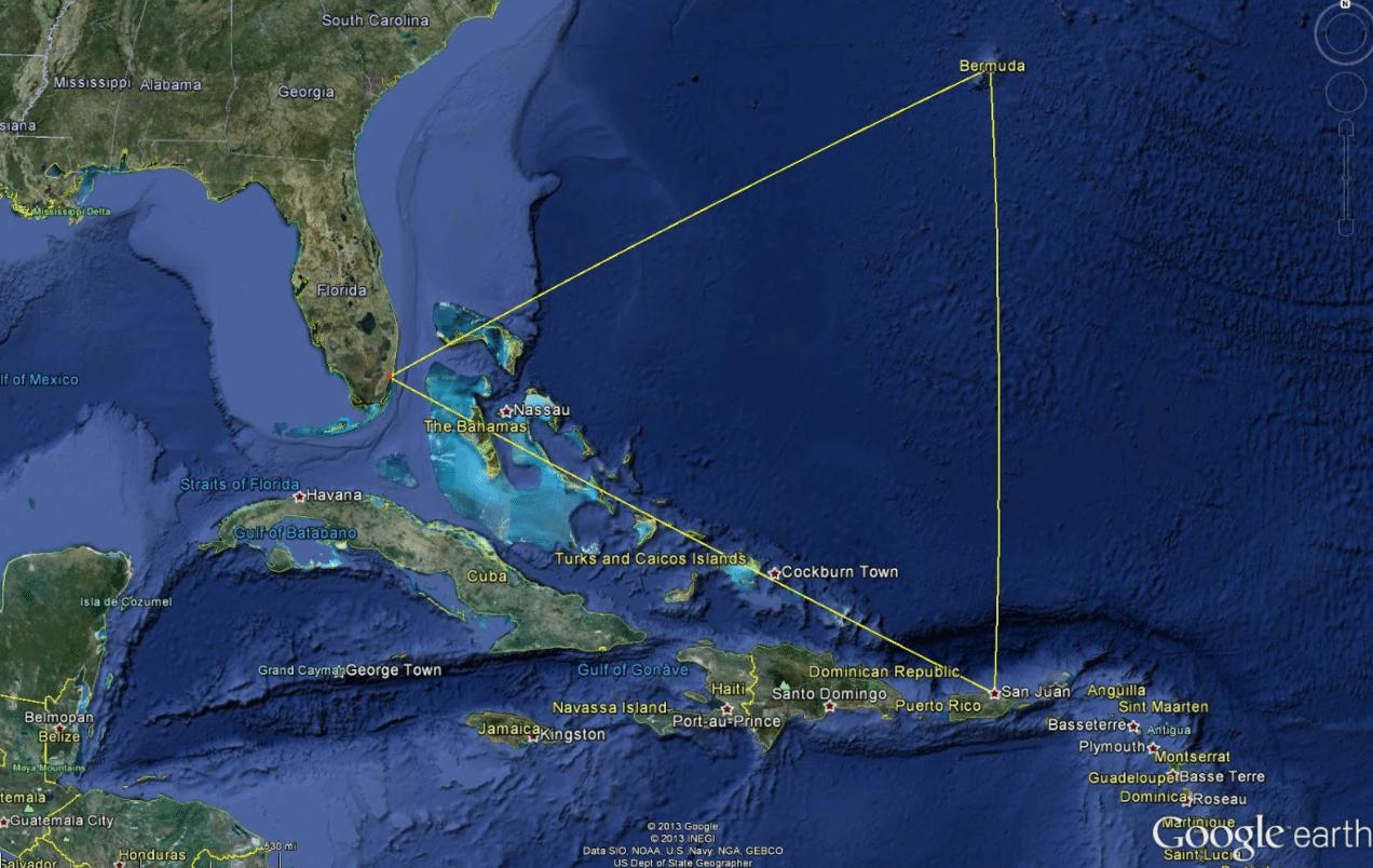 Saiba Tudo Sobre o Triângulo das Bermudas