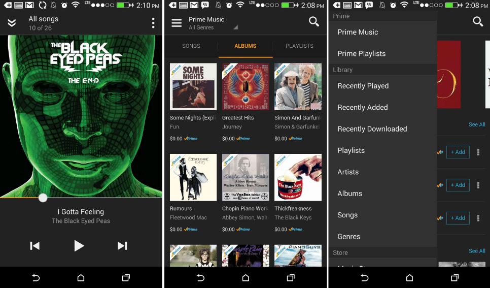 10 Melhores Apps de Streaming de Música (2016) amazon-prime-music-app