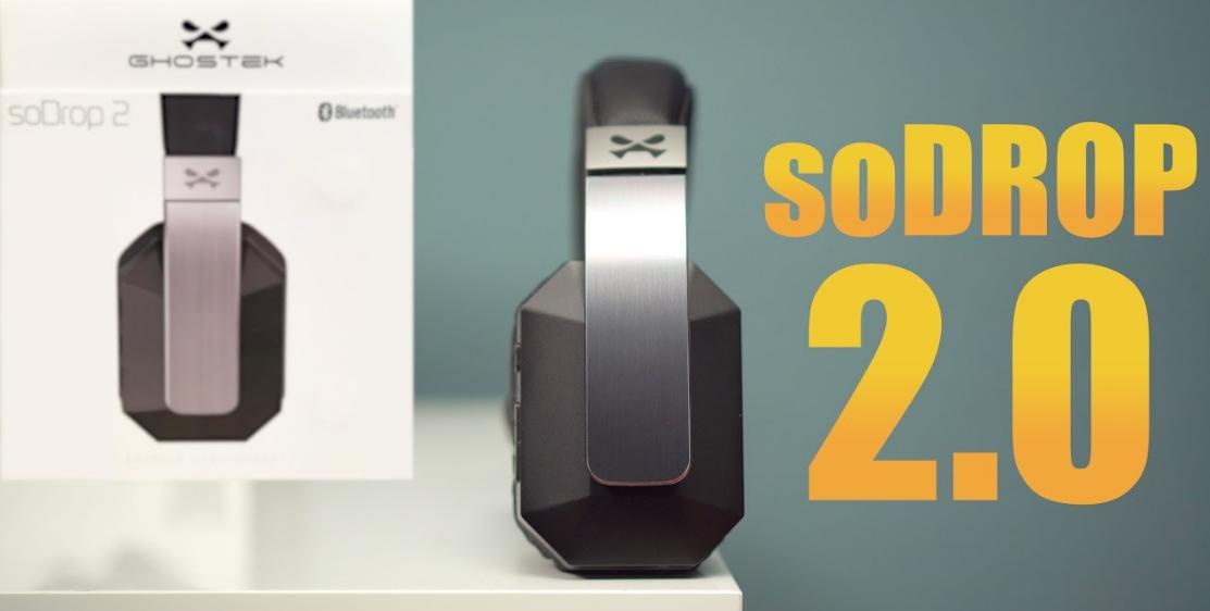10 Melhores Fones de Ouvido com Cancelamento de Ruído 2016 - Ghostek Sodrop 2.0