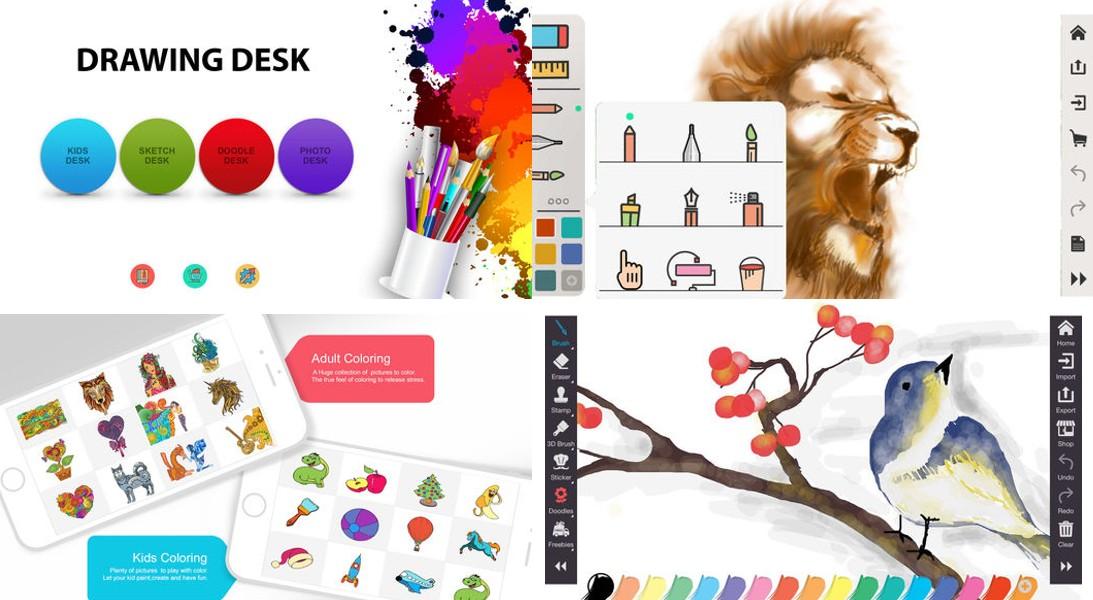 10 Apps Educacionais que os Pais Deveriam Ter para os Filhos - Drawing Desk