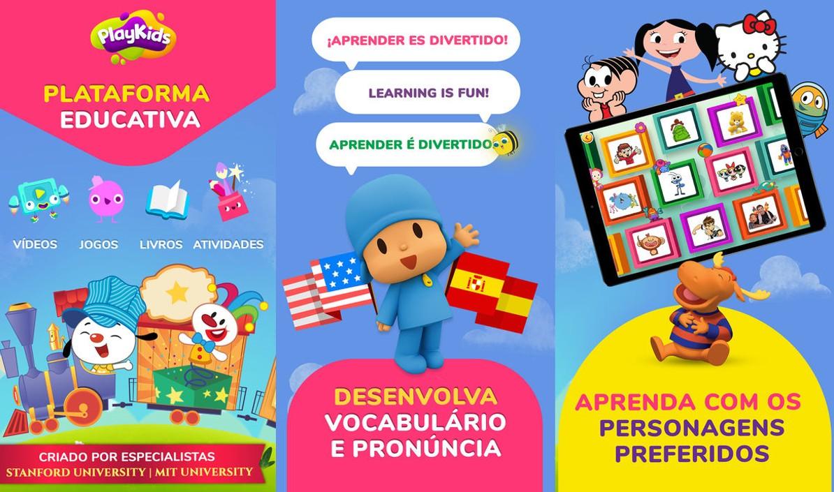 10 Apps Educacionais que os Pais Deveriam Ter para os Filhos - Playkids TV