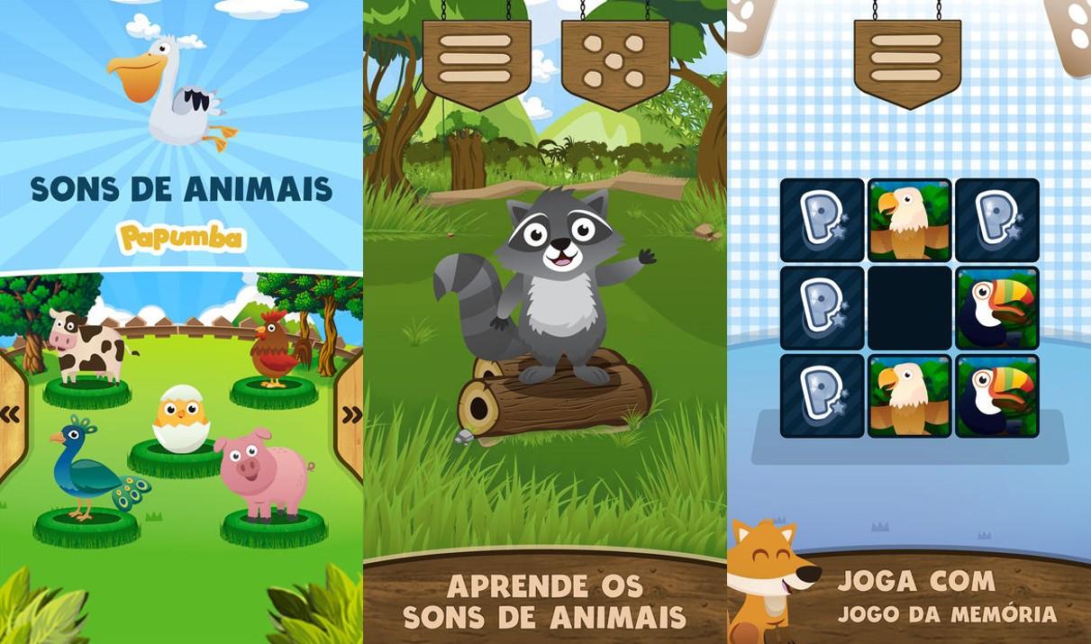 10 Apps Educacionais que os Pais Deveriam Ter para os Filhos - Sons animais