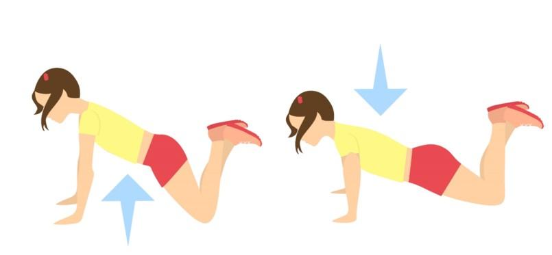 5 Exercícios para Queimar a Gordura do Braço - Flexões