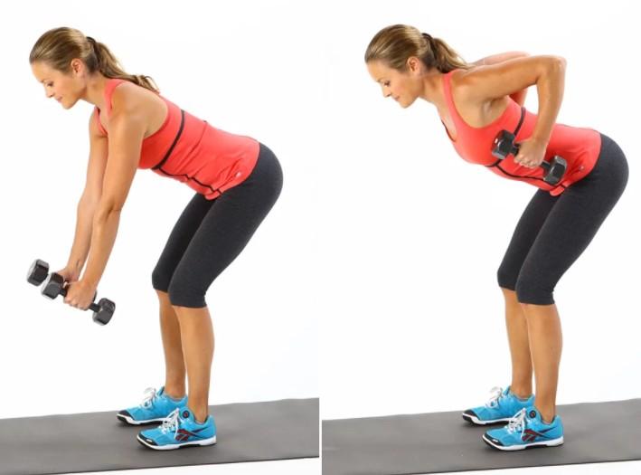 5 Exercícios Físicos para Eliminar a Gordura das Costas - Dumbbell 2