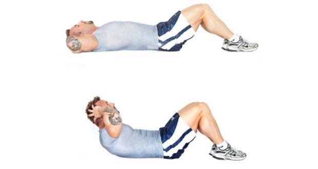 10 Exercícios Físicos que Você Deveria Fazer Todo Dia em Casa - 8 Abdominais