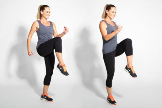 10 Exercícios Físicos que Você Deveria Fazer Todo Dia em Casa - 9 Corrida Parada