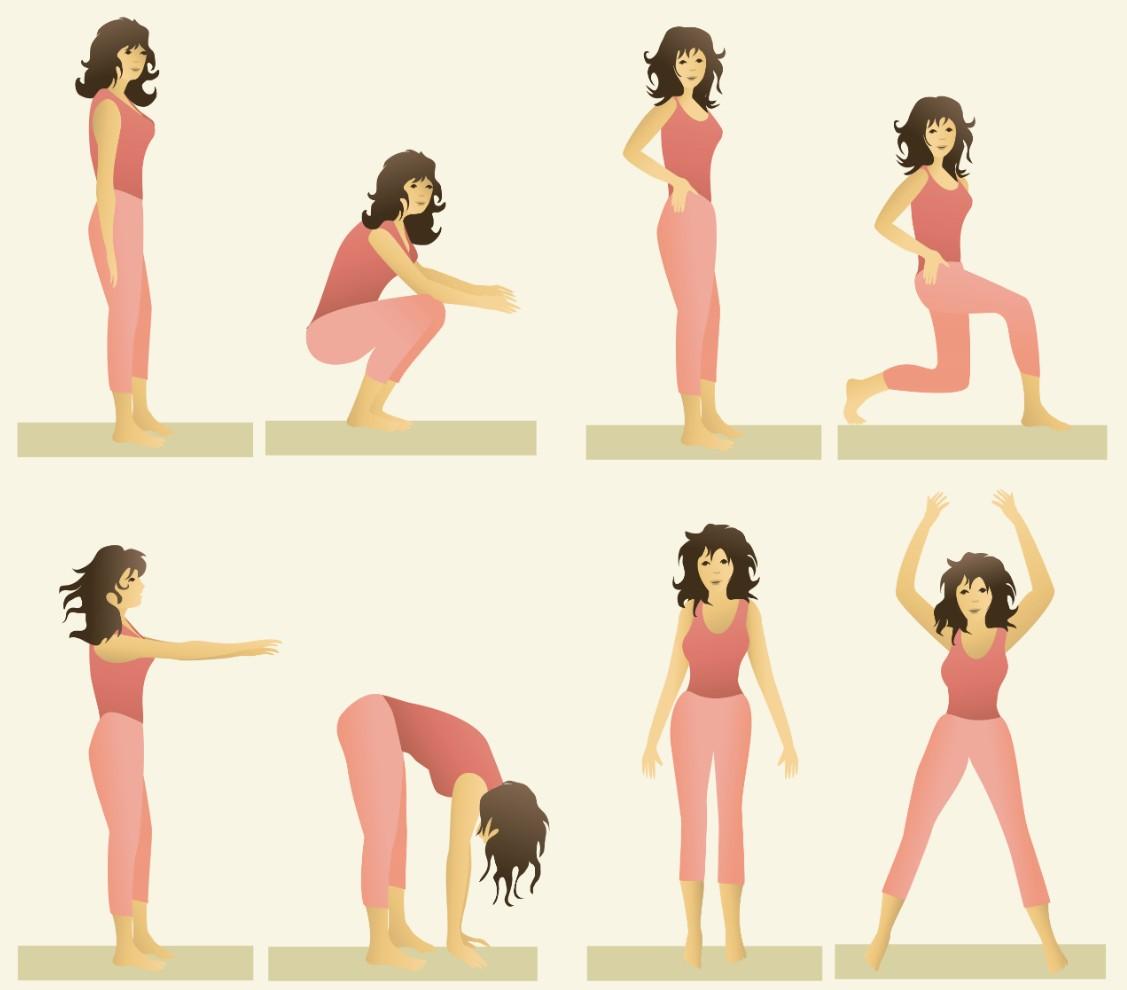 10 Exercícios Físicos que Você Deveria Fazer Todo Dia em Casa