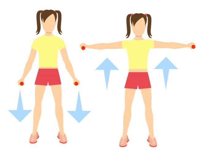 5 Exercícios para Queimar a Gordura do Braço - Ombro