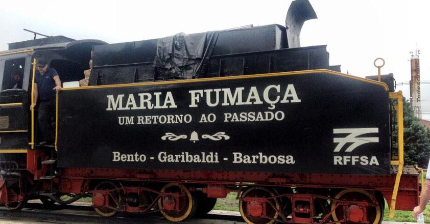 Passeio Maria Fumaça